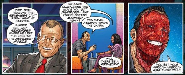 Revenge #1 (2014) - Letterman, Oprah