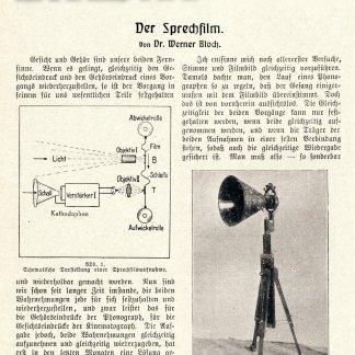 Der Sprechfilm (1923) 1