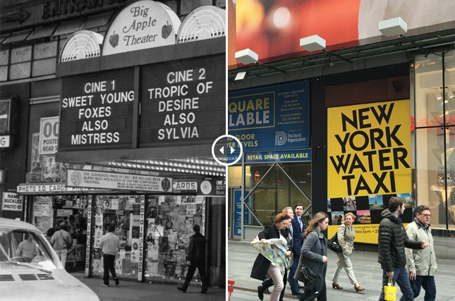 Lost Adult Theaters of New York