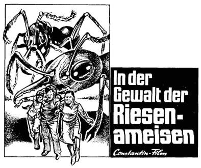 In der Gewalt die Riesen-Ameisen Matter Nr .11 2 spaltig
