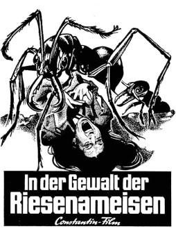 In der Gewalt die Riesen-Ameisen Matter Nr .14 2 spaltig