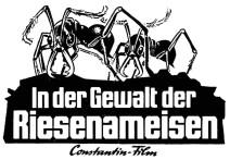 In der Gewalt die Riesen-Ameisen Matter Nr .16 2 spaltig